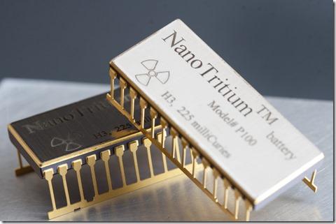 Batería de Nanotritio