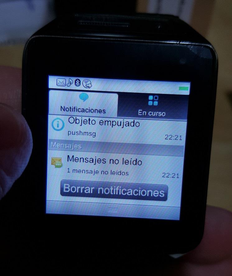GV08S mensajes