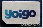 SIM Yoigo en Homotecno