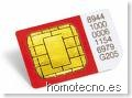 Tarjeta SIM en Homotecno