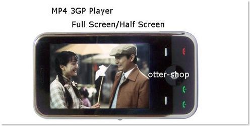móvil dual sim reproductor de video