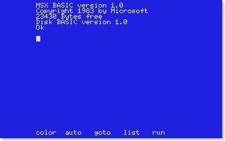 Basic MSX