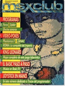 MSX Club portada revista_254x338